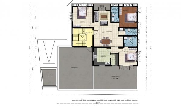 Second Floor - Plan A