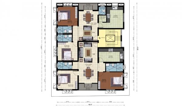 First Floor - Plan B