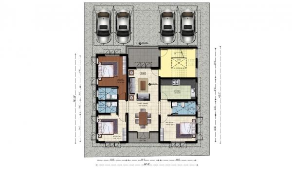 Ground Floor - Plan D