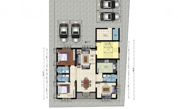 Ground Floor - Plan E